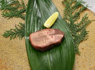 黒毛和牛タンのステーキ
